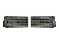 Cisco Catalyst 2960XR-48LPS-I - Commutateur - C3 - Géré - 48 x 10/100/1000 (PoE+) + 4 x Gigabit SFP - Ordinateur de bureau, Montable sur rack - PoE+ (370 W) WS-C2960XR-48LPS-I